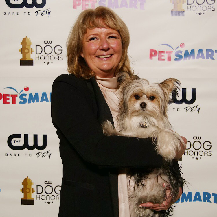 Dog Trainer, Bonnie Judd and Bell (Max) at the CW Dog Honors